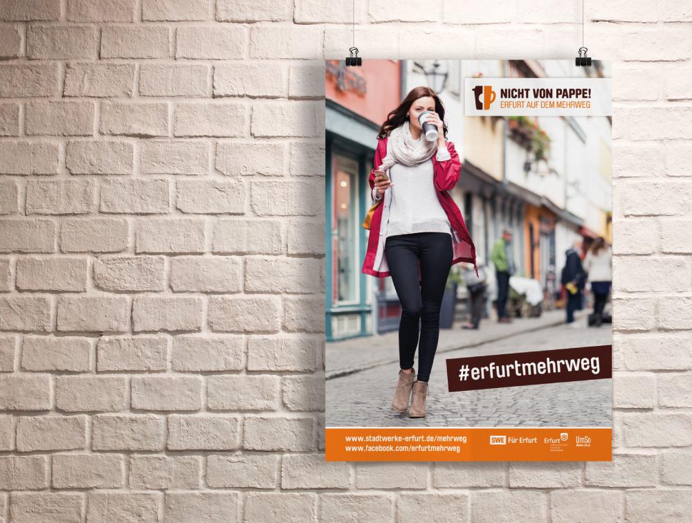 covermade Kampagne Nicht von Pappe Kampagne Café