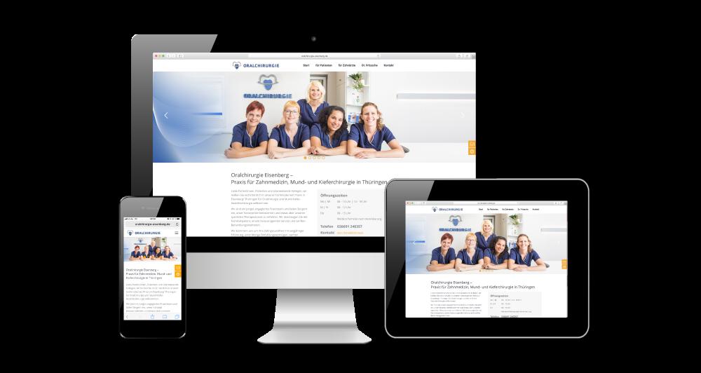 covermade Oralchirurgie Eisenberg Webseite