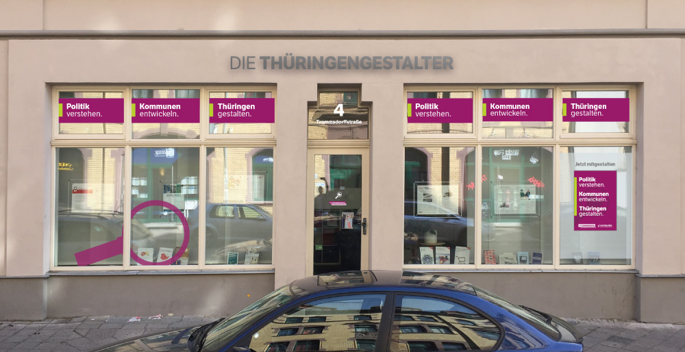 covermade Die Thüringengestalter Landesgeschäftsstelle