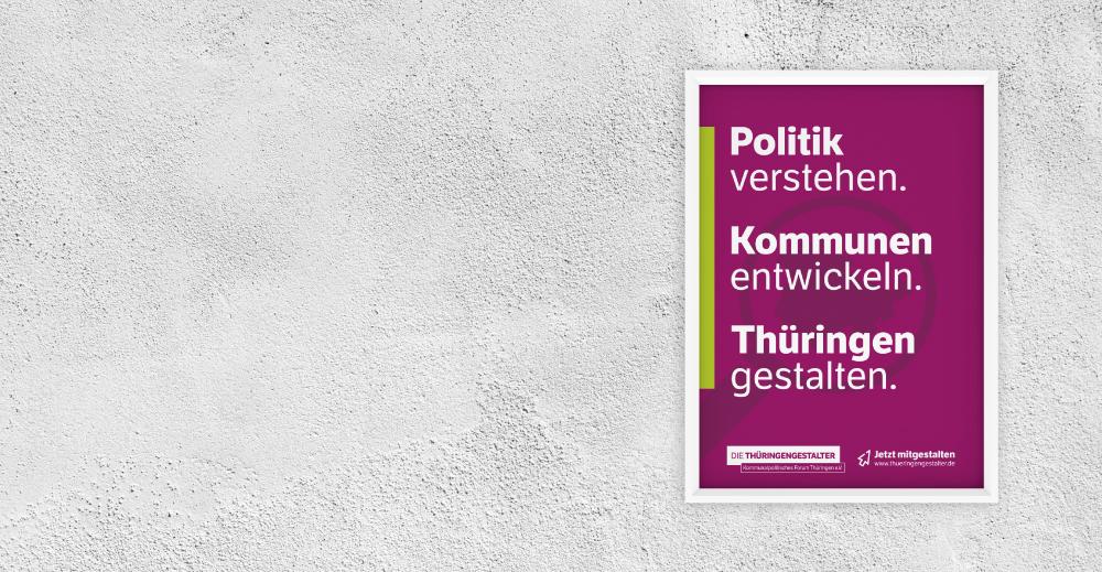 covermade Thüringengestalter Image-Plakat