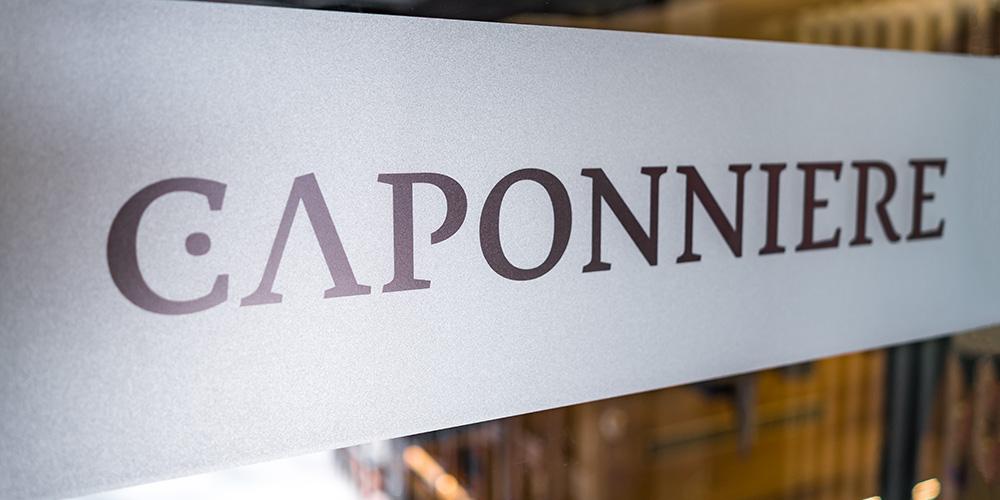 covermade Markenführung Caponniere Logo