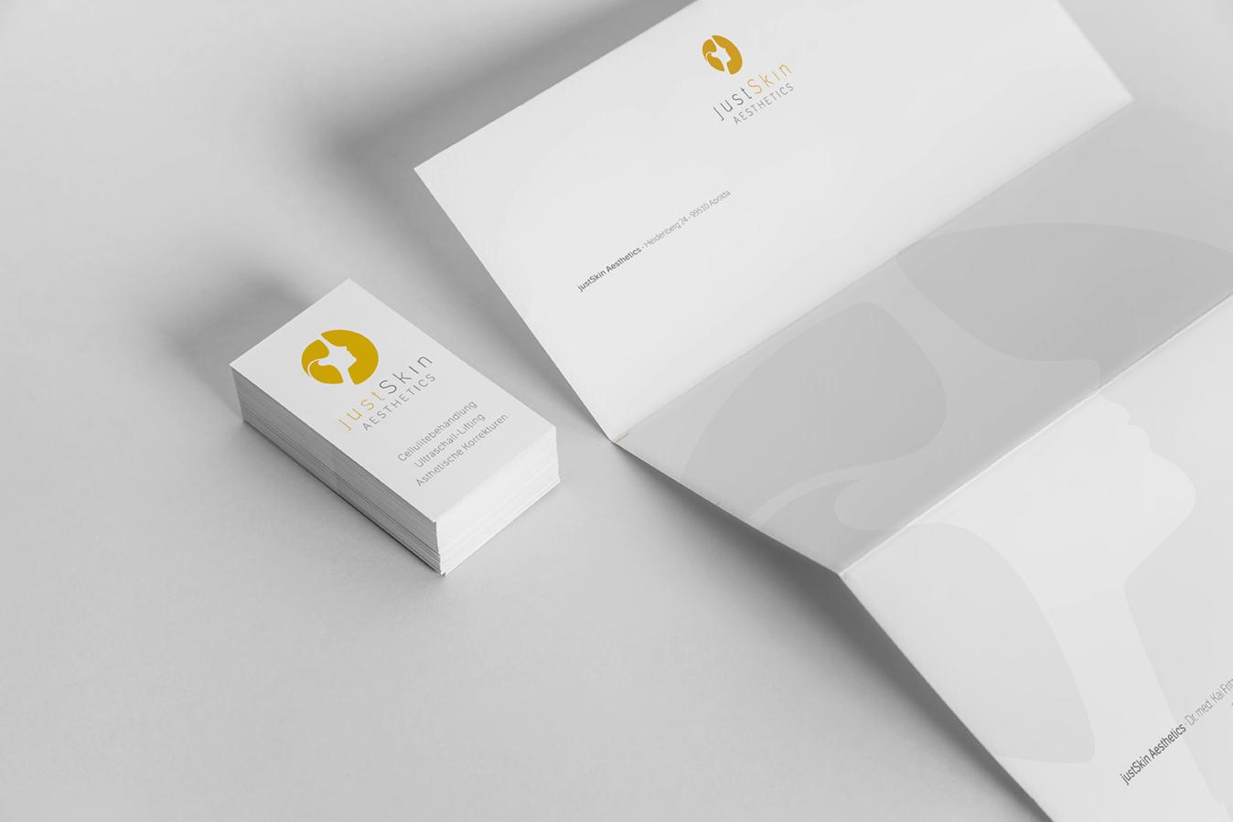 covermade Corporate Design justSkin Geschäftsausstattung