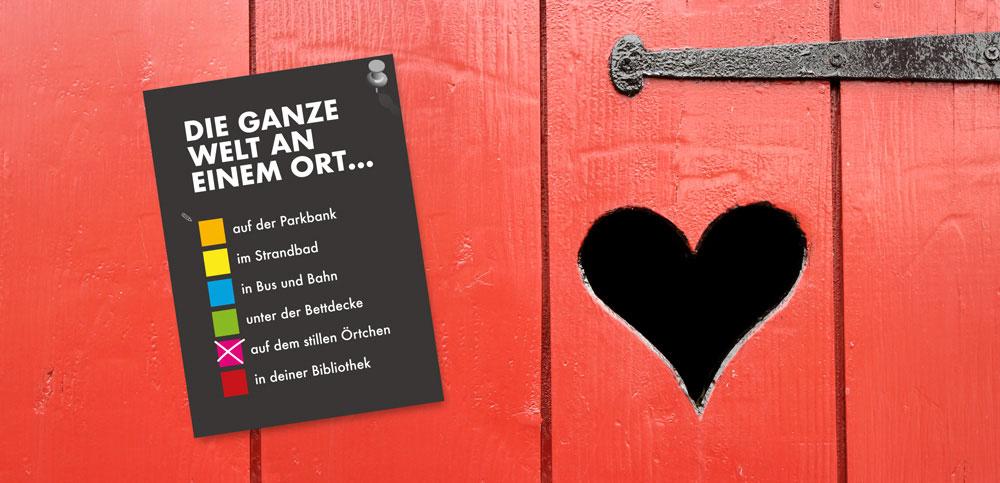 BIBOBUNT Kampagne Bibliotheken Thüringen