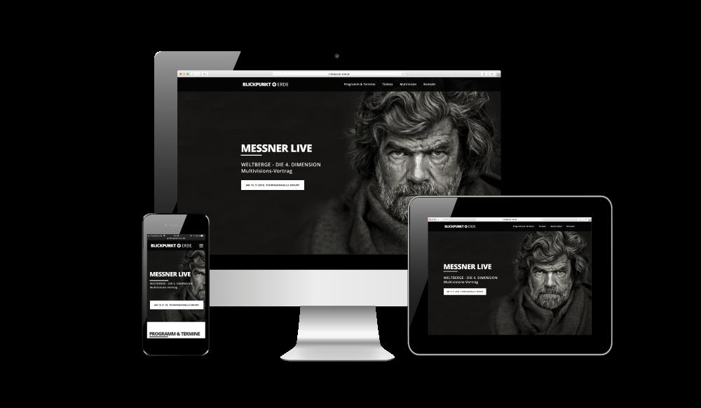 covermade Webseite Blickpunkt Erde